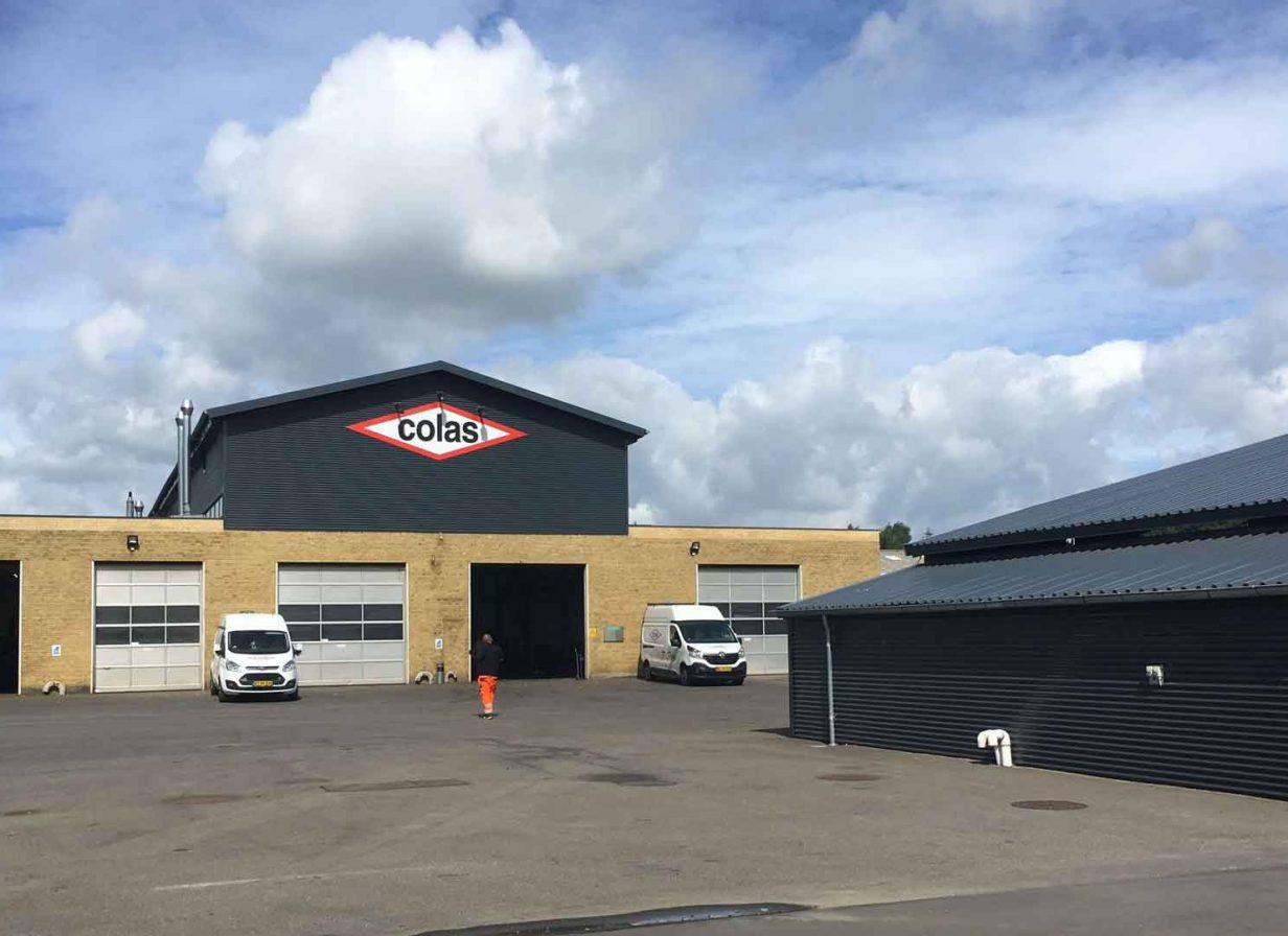 Colas Danmark A/S værksted i Viborg